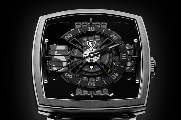 Vantablack hodinky