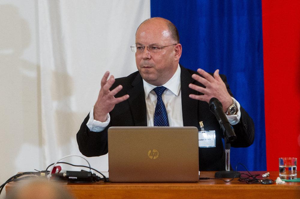 Generálny riaditeľ Jaroslav Rezník.