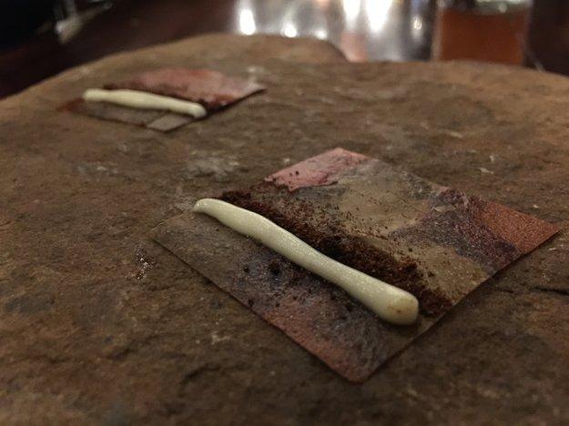 Jedno z úžasných jedál, ktoré nám naservovali u najlepšej kuchárky sveta