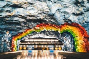 Október 2019 - Metro v Štokholme