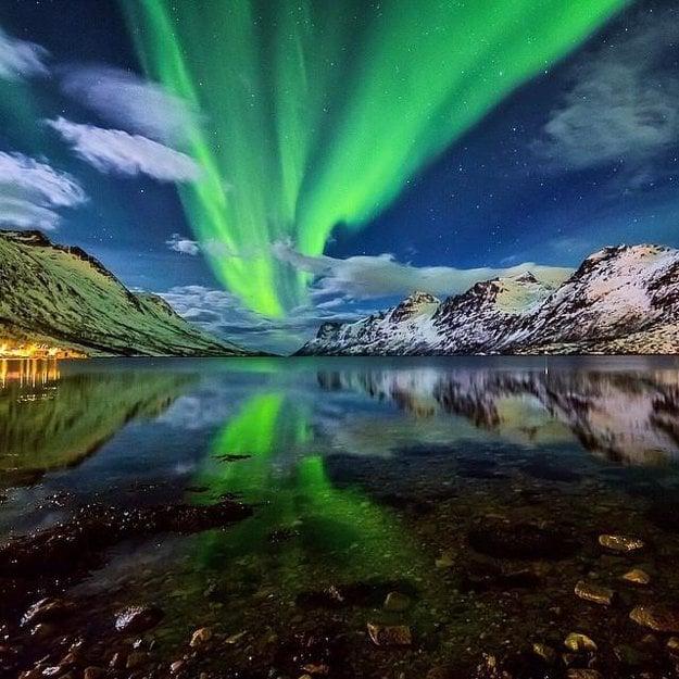 V Európe sa chvália polárnou žiarou najmä Nóri.