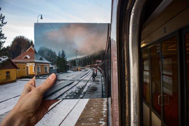 Fotokniha sprevádza Matúša aj na cestách.