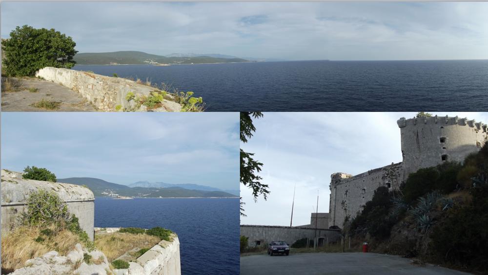 Pevnosť Prevlaka na samom juhu Chorvátska