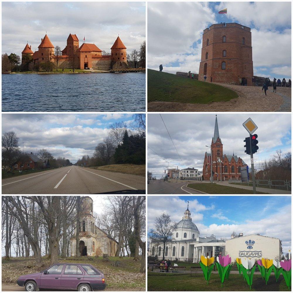 Litva a Lotyšsko majú čo ponúknuť ale ich mestá sa dajú pobehať za jeden deň