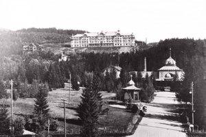 1906 - Grand hotel, Starý Smokovec