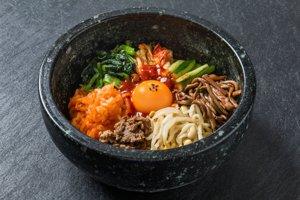 8. Bibimbap v juhokórejskom Soule