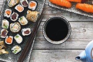 3. Sushi v japonskom Tokiu