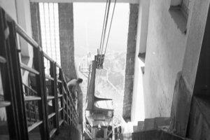1956 - Lanovka na Lomnický štít