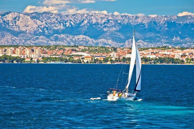 Zakotvite v Zadare počas brázdenia vôd Jadranu.