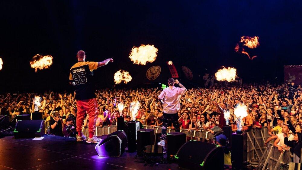 Jún 2019 - Raperi DMS na festivale Hip hop žije