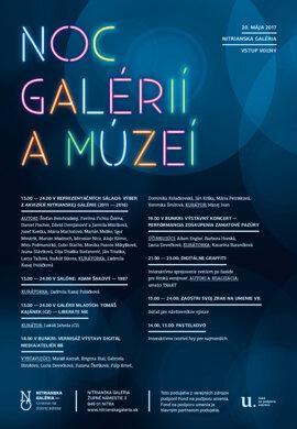 Noc galérií a múzeí dňa 2017