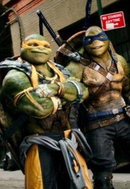 Ninja korytnačky 2 3D