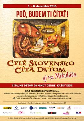 Banská Štiavnica číta deťom