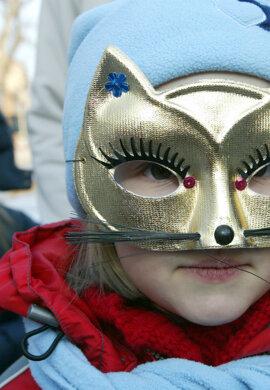 Detský karneval - ilustračné foto.