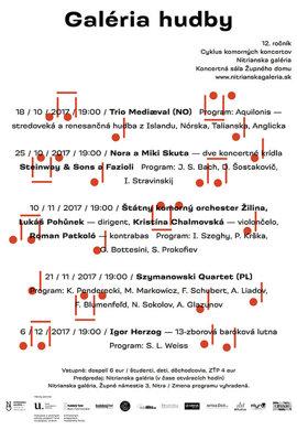 12. ročník Galéria hudby 2017