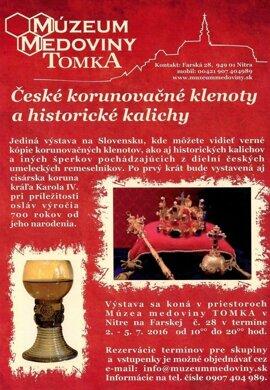 České korunovačné klenoty a historické kalichy