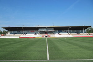 Futbalový štadión na Sihoti.