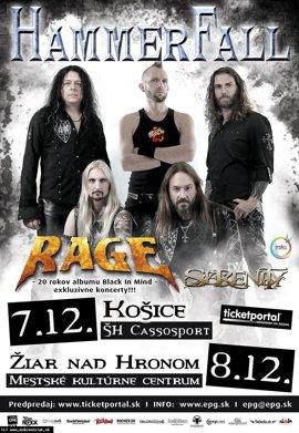 Jedinečný koncert Hammer Fall v Žiari nad Hronom