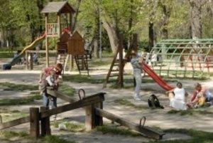 Mestský park na Sihoti
