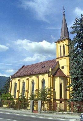 Evanjelický kostol Vrútky.