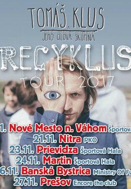 Tomáš Klus: Recyklus Tour 2017