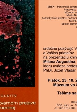 Prezentácia knihy Milana Augustína