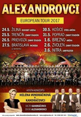 Alexandrovci European Tour 2017