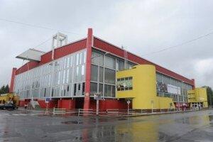 Zimný štadión Pavla Demitru v Trenčíne.