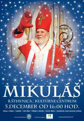 Mikuláš v Kultúrnom centre.