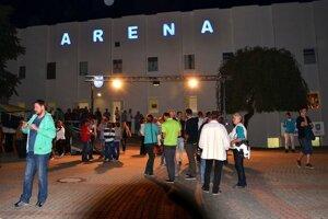 Arena na Výstavisku v Lučenci
