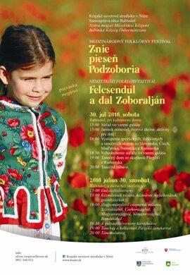 Znie pieseň Podzoboria