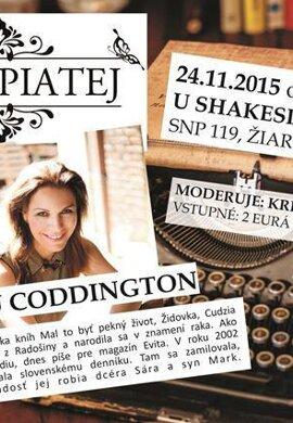 Diskusia s novinárkou Andreou Coddington