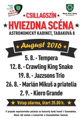 Letné koncerty – Kiero Grande
