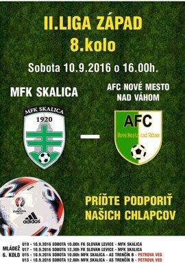 MFK Skalica - AFC Nové Mesto nad Váhom