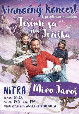 Vianočný koncert Mira Jaroša k pesničkám z albumu