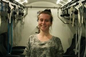 Šťastná Dominika. V hyperbarickej komore, ktorá jej zachránila sluch.