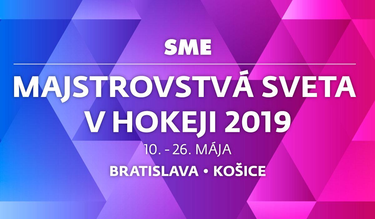 1f1bb43c7 MS v hokeji 2019 - Všetko o majstrovstvách sveta - Šport SME