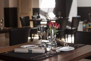 Interiér reštaurácie Simply Fresh.