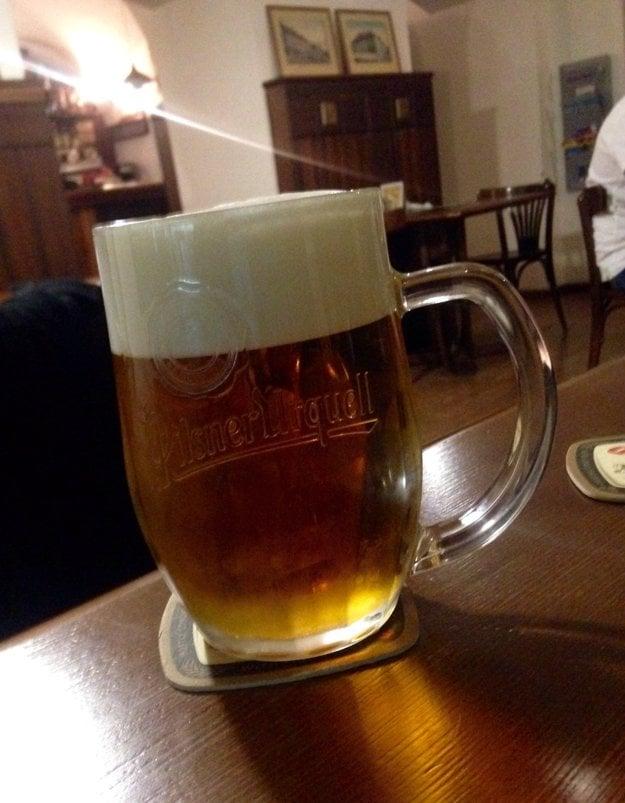 Čapované pivo Pilsner Urquell