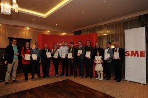 Výhercovia sútaže SME reštaurácia roka za jednotlivé kraje.