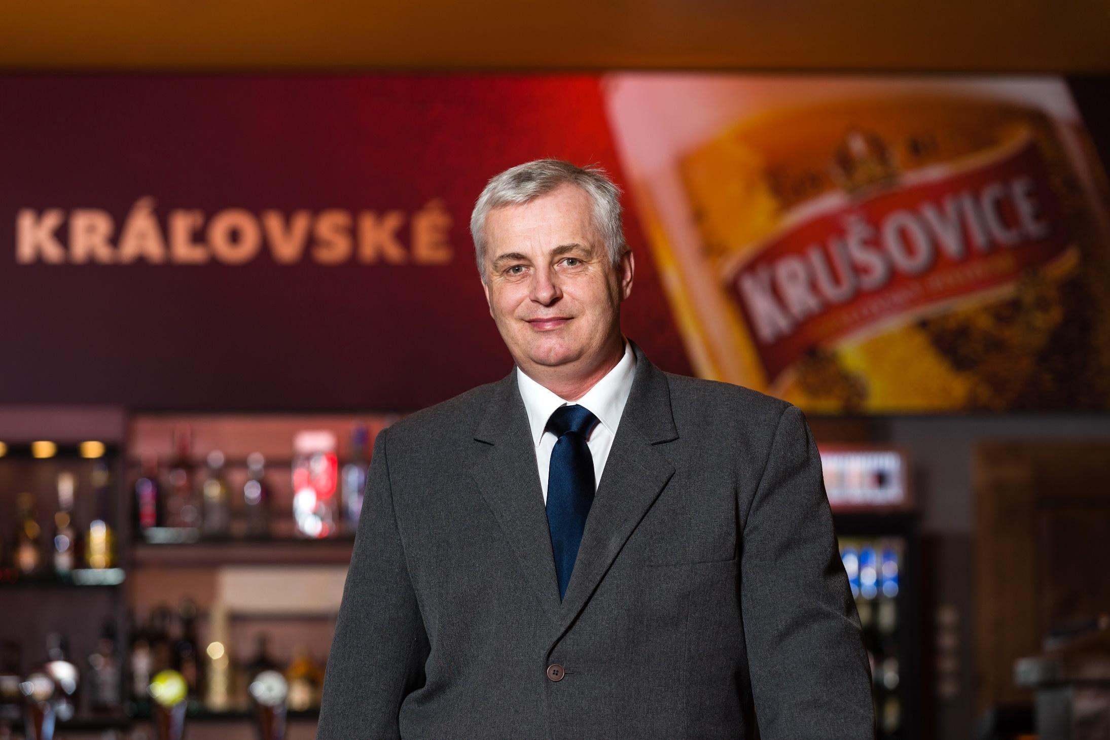 Expert z pivovaru v Krušoviciach