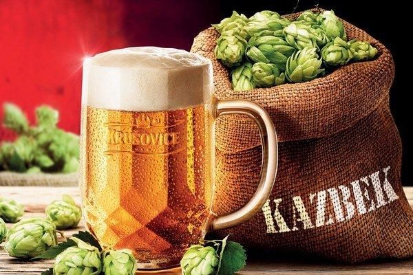 Krušovické pivo Kazbek