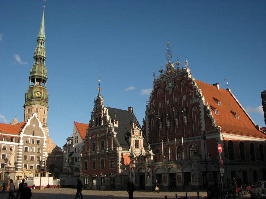 Riga je historické prístavné mesto.