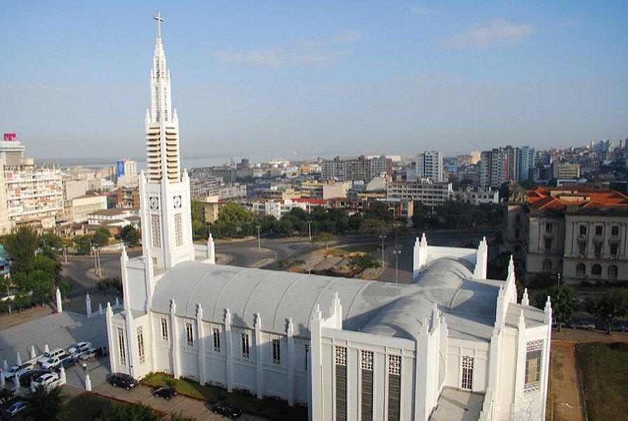 Katedrála v mozambickom Mapute vznikla z roku 1940.