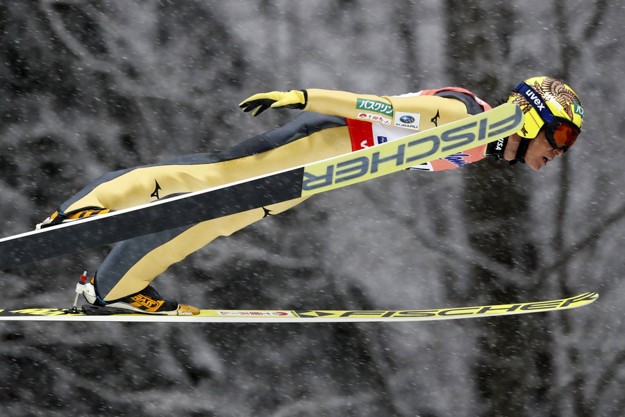 Noriaki Kasai sa predstaví na svojej ôsmej olympiáde.
