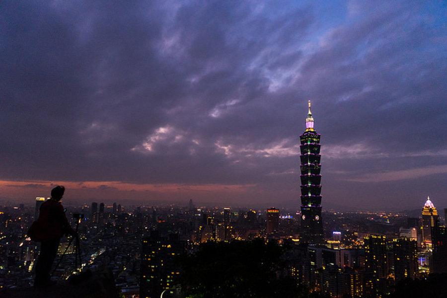 Symbolom tajwanského hlavného mesta Taipei je jedna z najvyšších budov na svete, mrakodrap Taipei 101.