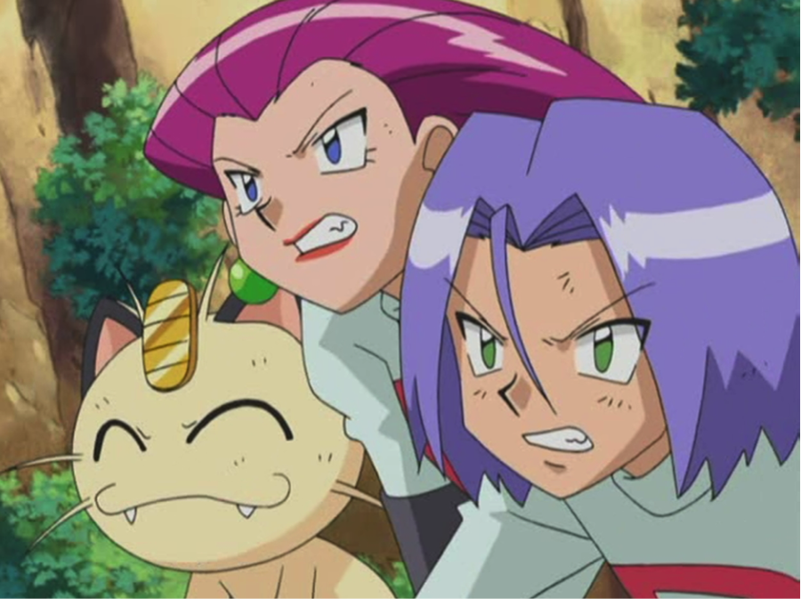 Team Rocket a Meowth.