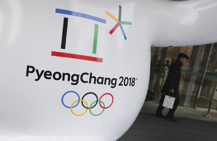 Oficiálne logo ZOH v Pjongčangu.
