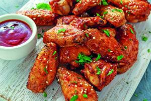 Sezamové kuracie krídelká