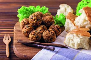 Falafel – cícerové fašírky